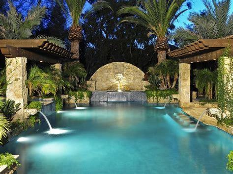 Backyard Resort Ideas Exceptional Resort Style Pool Paradise Valley Arizona