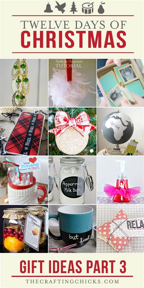 best 12 days of christmas gifts 12 days of gift ideas part 1 the crafting