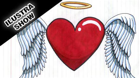 imagenes de corazones alas corazones con alas para colorear perfect red heart with