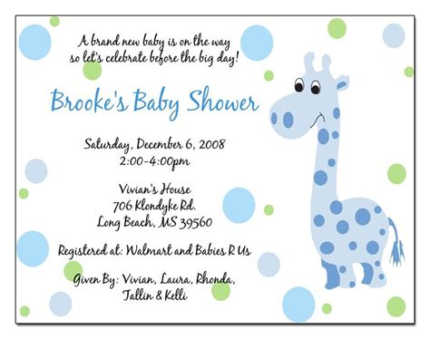 sle baby shower invitations templates 10 best images about simple design baby shower invitations