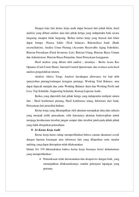 makalah auditing i sasaran tujuan dan bukti audit kel 3