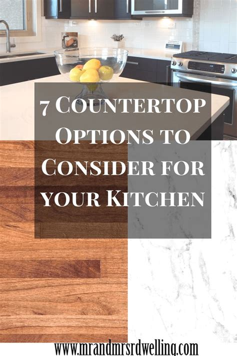 Countertop Options Pros And Cons by 25 Best Ideas About Countertop Options On