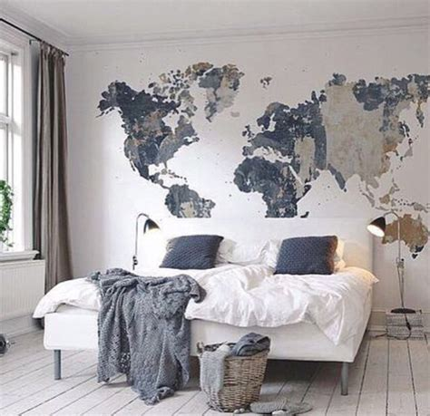 bedroom wall murals cool map mural see various wall mural designs at http