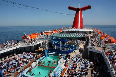 paradies decken carnival cruise lines carnival paradise cruise review by