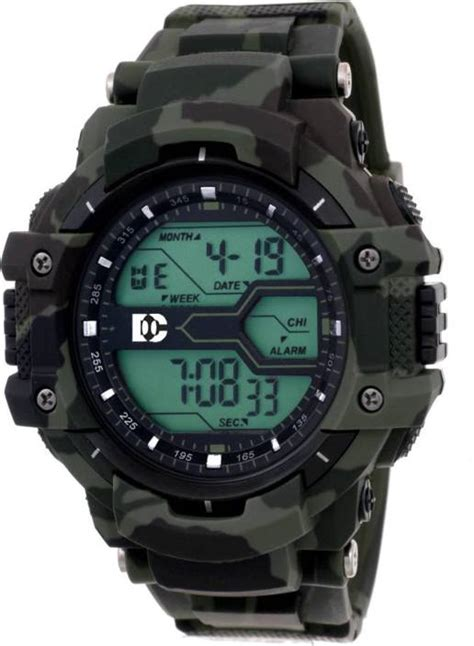 army pattern watch dinor dc1017 men s solitary affrican army pattern solitary