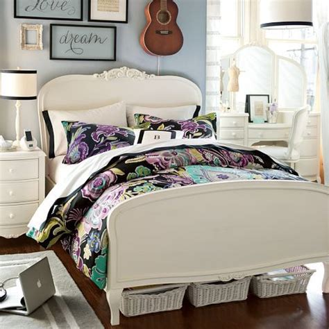 pbteen bedroom lilac bed pbteen bedroom pinterest