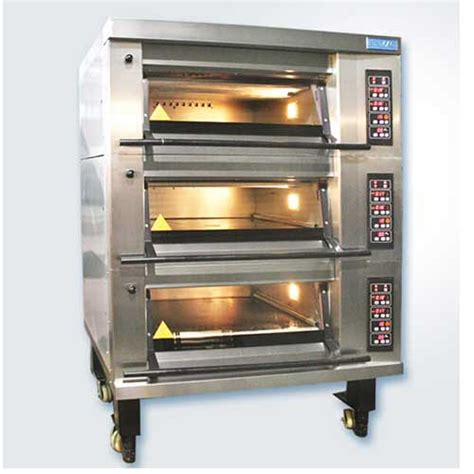 gas deck oven mb8 series from sinmag in india