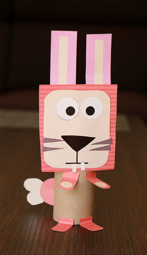 Animal Paper Crafts - toilet paper roll animals easy paper crafts for