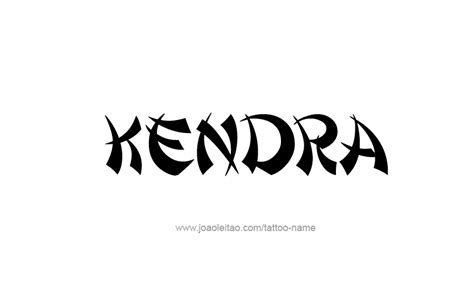 kendra wilkinson tattoos kendra name designs