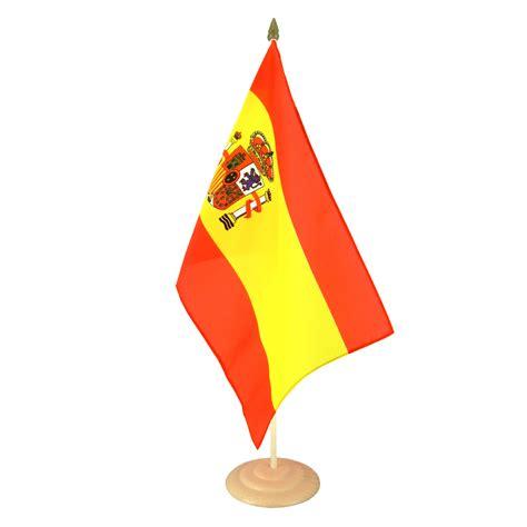 grand drapeau de table espagne 30 x 45 cm m drapeaux