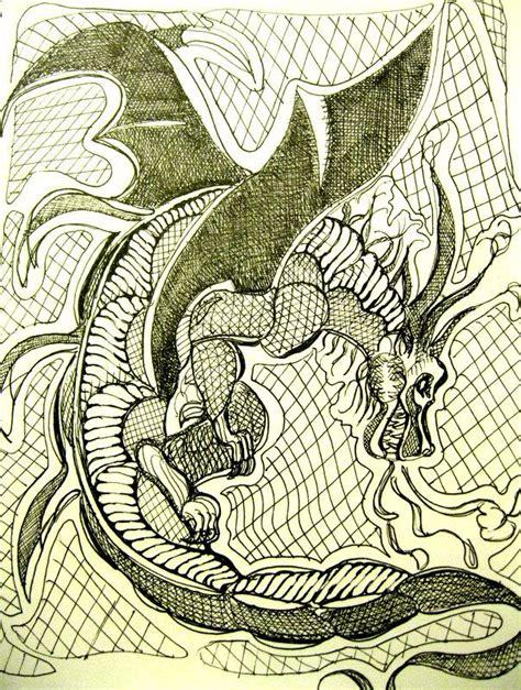 zentangle pattern sson 29 best zentangle art 17 dragons images on pinterest