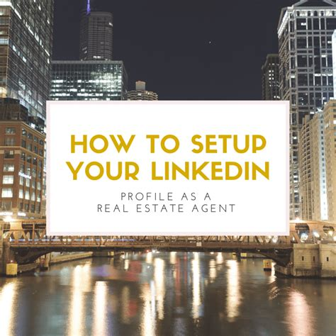 Linkedin Real Estate Mba by How To Setup Your Linkedin Profile Like A Pro Slideshare