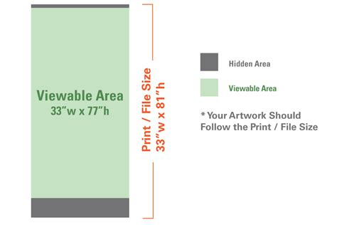 templates for retractable banners standard retractable banner 33 x 81 progress