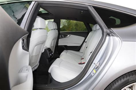 Audi A7 Rear Seats by Audi A7 Review Pictures Auto Express