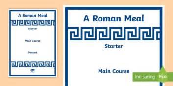 design a menu ks2 roman menu template roman menu template roman food roman