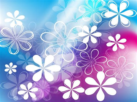 cute wallpaper vector free download cute flowers vector background vector art graphics