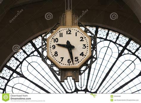 horloge type gare pendule gare