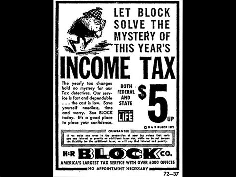 Response Letter To H R Block Advertisements Newspaper Ad For H R Block Although Skeptical Of The