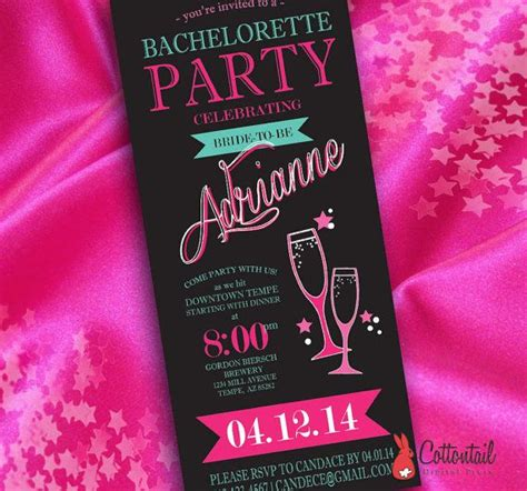 diy bachelorette diy neon bachelorette invitation a cheap and