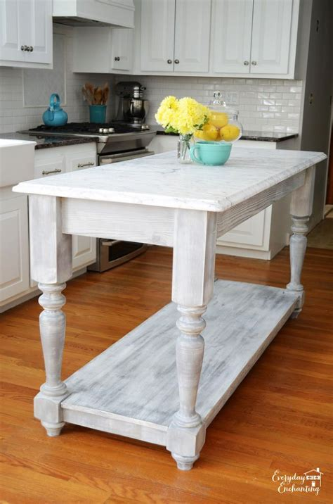 diy kitchen island diy furniture style kitchen island