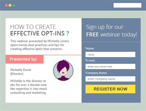 Opt In Form Templates by 10 Email Opt In Form Exles And Best Practices Emailmonks