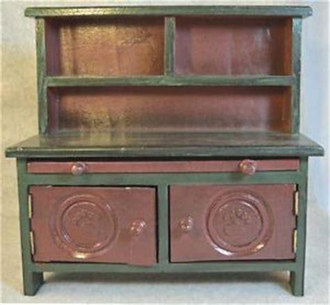 vintage child s play kitchen cupboard hutch wood step vintage childs painted wooden cupboard cabinet stepback