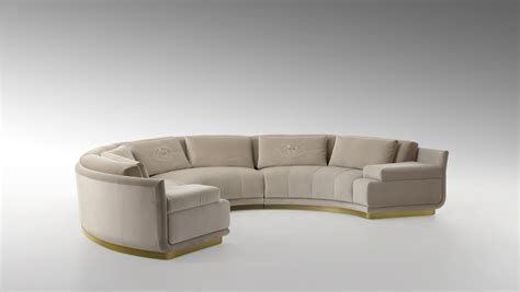 round sectional couch artu round sectional sofa