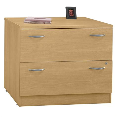 Bbf Series C 2 Drawer Lateral Wood File Storage Light Oak Oak Lateral File Cabinet 2 Drawer