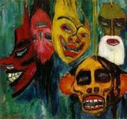 Masker Nature expressionnisme allemand 5 novembre emil nolde