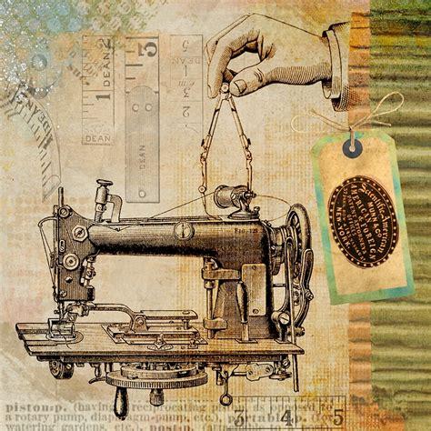 old vintage images ilustra 231 227 o gratis costura vintage m 225 quina imagem