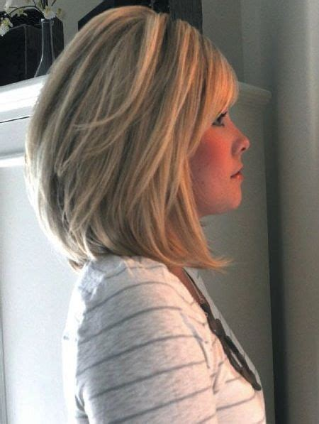 stacked hairstyles for women over 50 mid length stacked bob for women 50 or over 14 medium