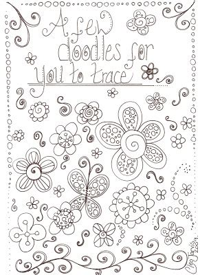 doodle templates cleo s undomesticated scrapbooking bliss ooodles of doodles