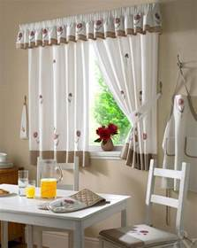 Ideas For Kitchen Curtains Contemporary Kitchen Curtain Designs Interior Design