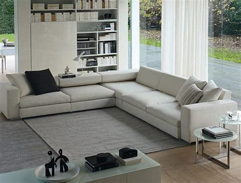 Modular Furniture Living Room Contemporary Modular Sofa Design For Living Room Furniture Turner Series By Molteni Florida