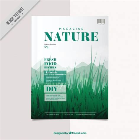 free magazine cover templates downloads magazine cover template vector free