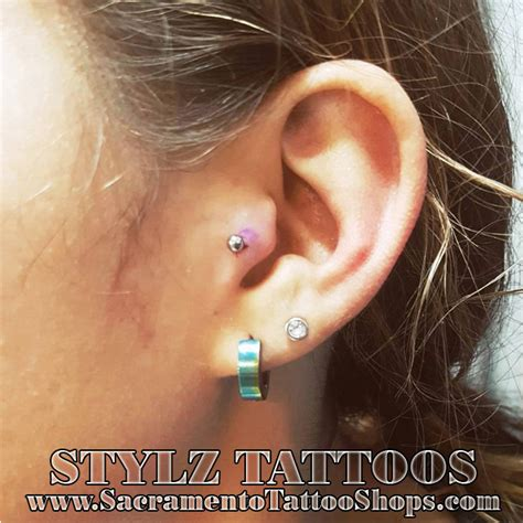 tattoo parlor ear piercing best place for ear piercing elk grove