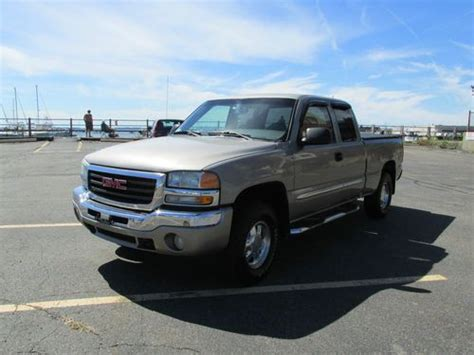 find used 2003 gmc sierra 1500 sl extended cab pickup 4 door 4 8l in huntington beach find used 2003 gmc sierra 1500 sle extended cab pickup z71 4x4 5 3l v8 auto no reserve in