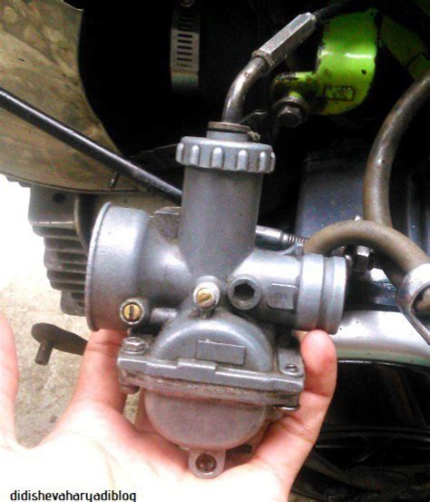 Karburator 1 F1zr karbu banjir didishevaharyadiblog