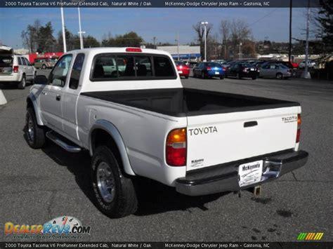 2000 Toyota Tacoma Prerunner 2000 Toyota Tacoma V6 Prerunner Extended Cab White