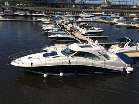 used boat for sale montreal sea ray 580 615 sundancer 2011 used boat for sale in