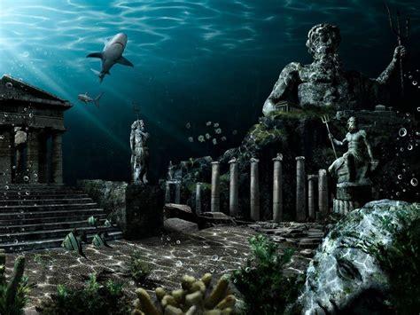 lost cities lost city of atlantis underwater www pixshark
