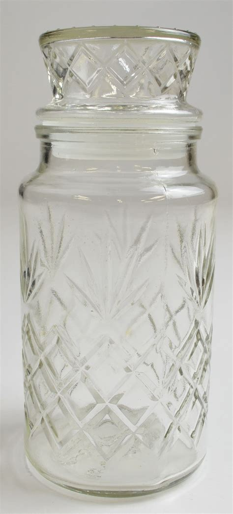 Planters Peanuts Glass Jar by Anchor Hocking Glass Planters Peanuts Lidded Jar 1983 8 Quot T