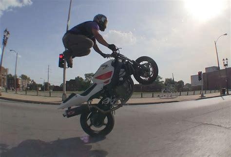 Motorcycle Stunts 2014 Saint Louis Mo Street Ride Session