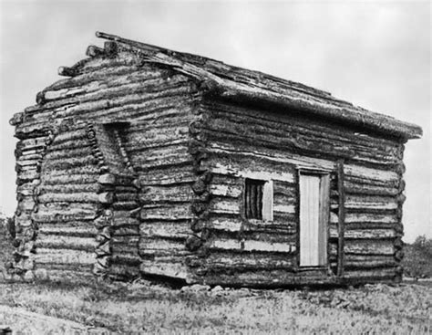 Abraham Lincolns Cabin by Lincoln Abraham Log Cabin Exterior Replica Of
