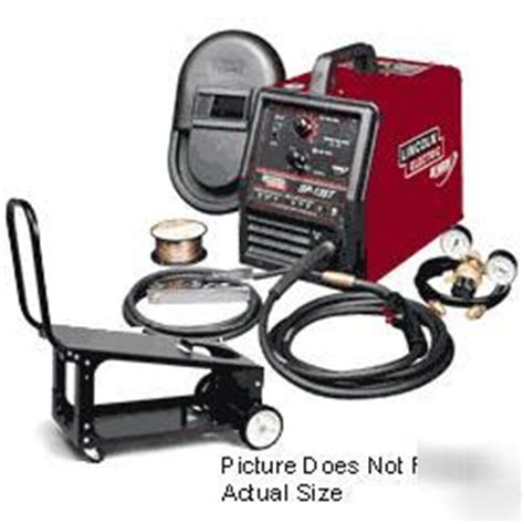 lincoln electric sp 135t lincoln electric sp 135t mig welder with cart k2301 1