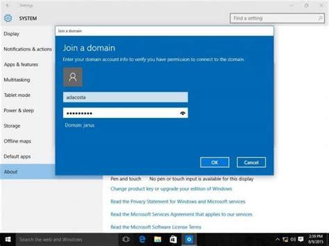 join  windows  pc   domain