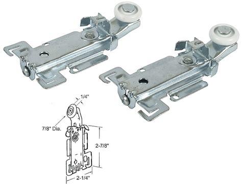 Stanley Closet Door Rollers by Closet Door Roller With 7 8 Quot Edge Roller For Acme And Stanley Closet Doors