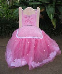 How To Make A Princess Chair by Bridgette S 1st Birthday Decorations Pink Tutu