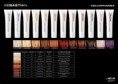 sebastian cellophanes color chart sebastian professional cellophanes color chart color