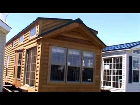 Cedar Log Cabin Park Model Rv Cbt  Tiny House